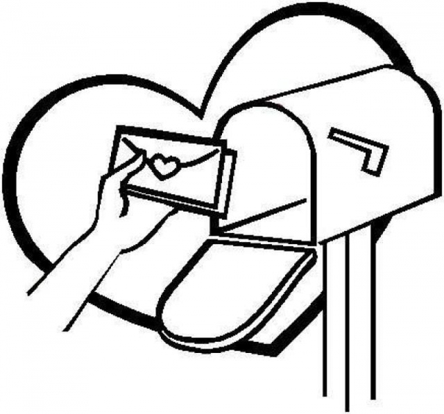 18193 Valentine free clipart.