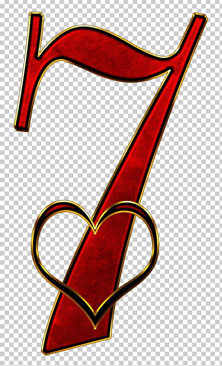 Valentine Number 7 PNG, Clipart, Miscellaneous, Numbers Free.