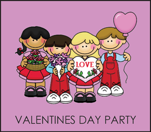 Valentines Day Classroom Parties — Elmhurst Learning Center.