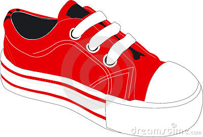 318 Tennis Shoes free clipart.