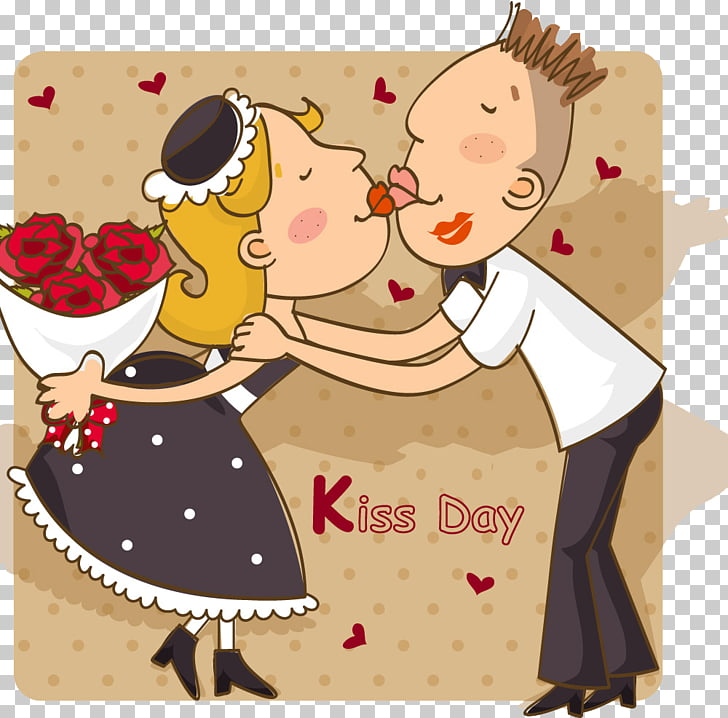 International Kissing Day Valentines Day Intimate.