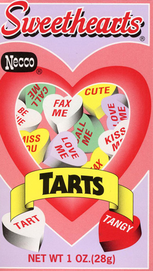 Valentines day clipart sweet tarts.