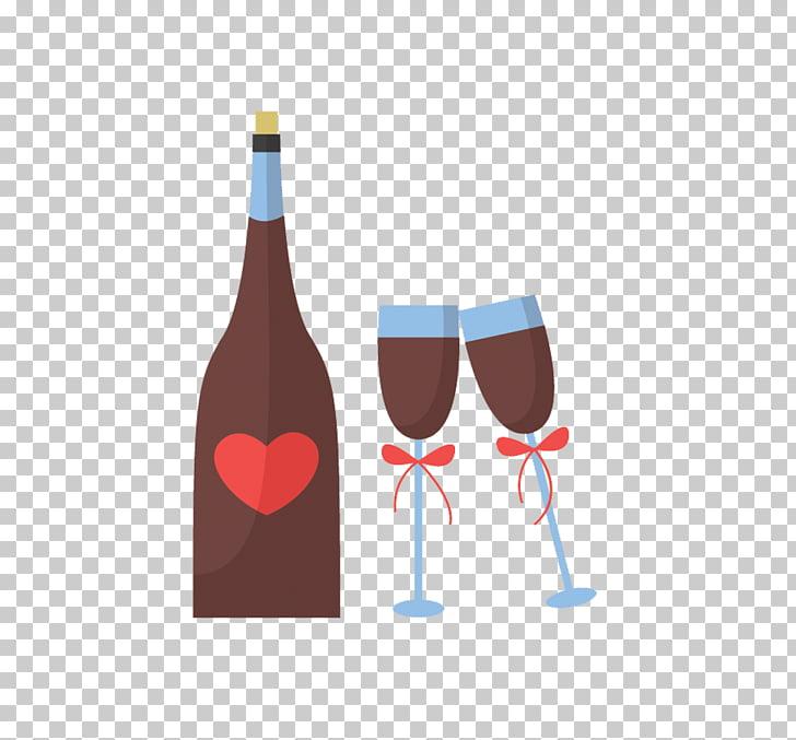 Red Wine Wine glass Euclidean , wine goblet creative.