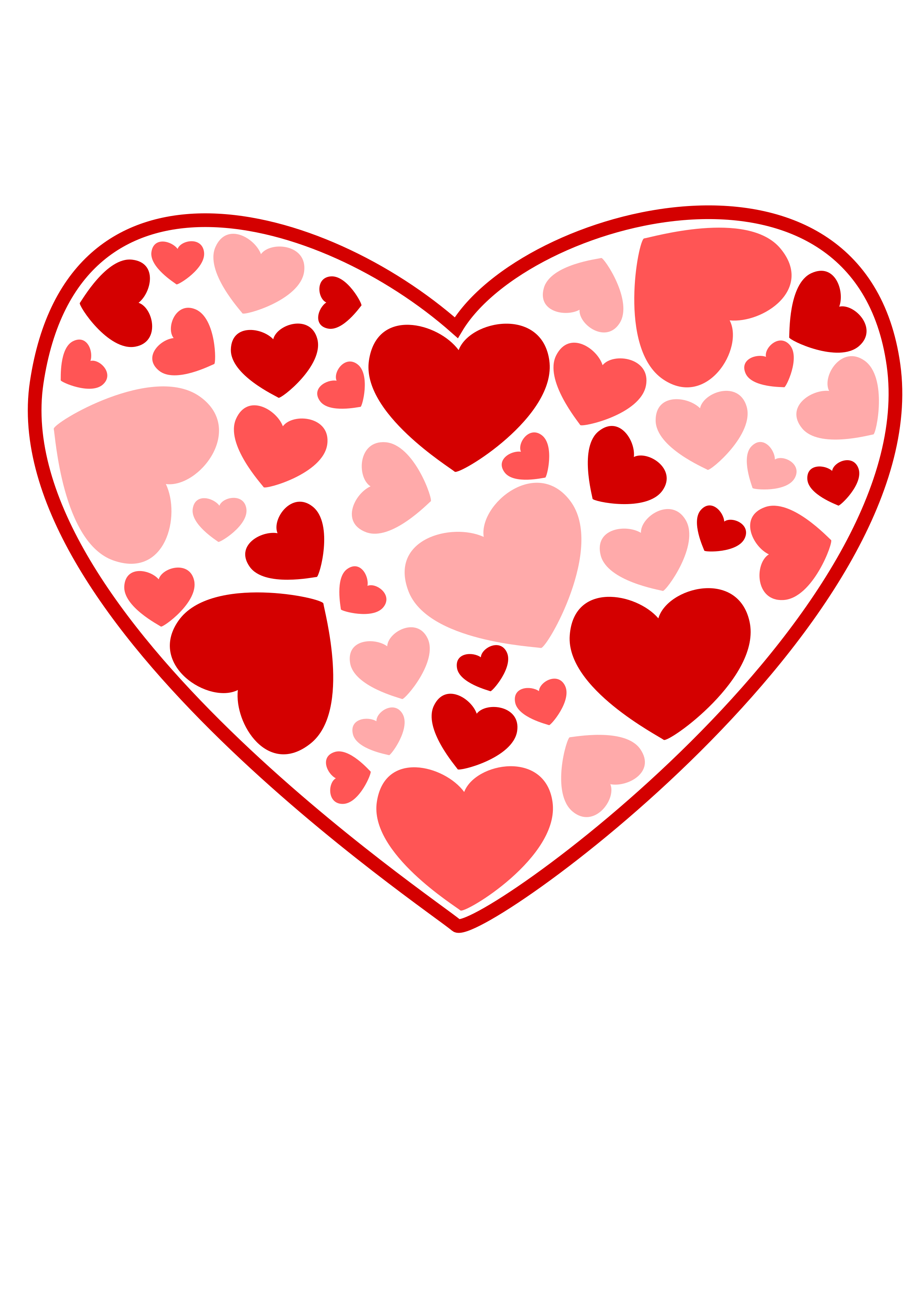 Valentines heart clipart 4 » Clipart Station.