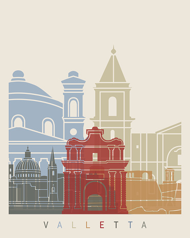 Valletta Clip Art, Vector Images & Illustrations.