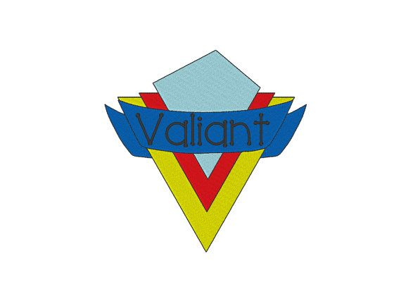 Valiant Primary Embroidery Design.