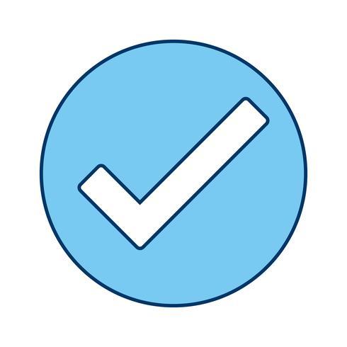 Vector Valid Icon.