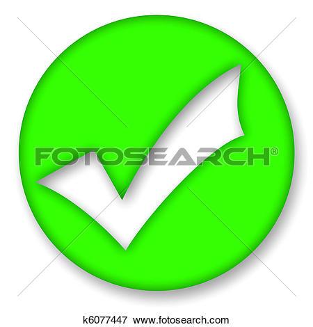 Stock Illustration of Check mark k6077447.