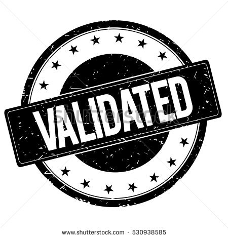 Validation Stock Images, Royalty.