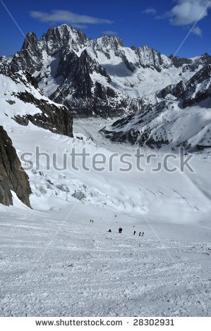Vallée Blanche Stock Photos, Images, & Pictures.