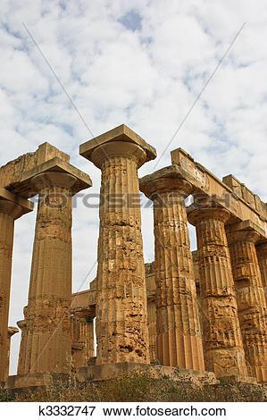 Picture of Temple of Magna Grecia, Valle dei Templi, Sicilia.