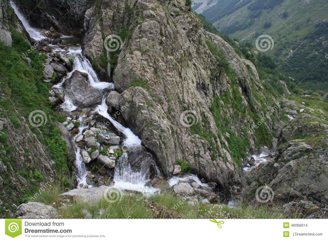 Cascata, Parco Naturale Delle Alpi Marittime (25 Luglio 2014.