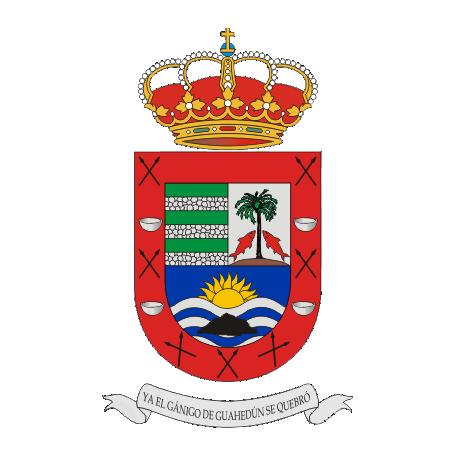 The town of Valle Gran Rey in La Gomera.