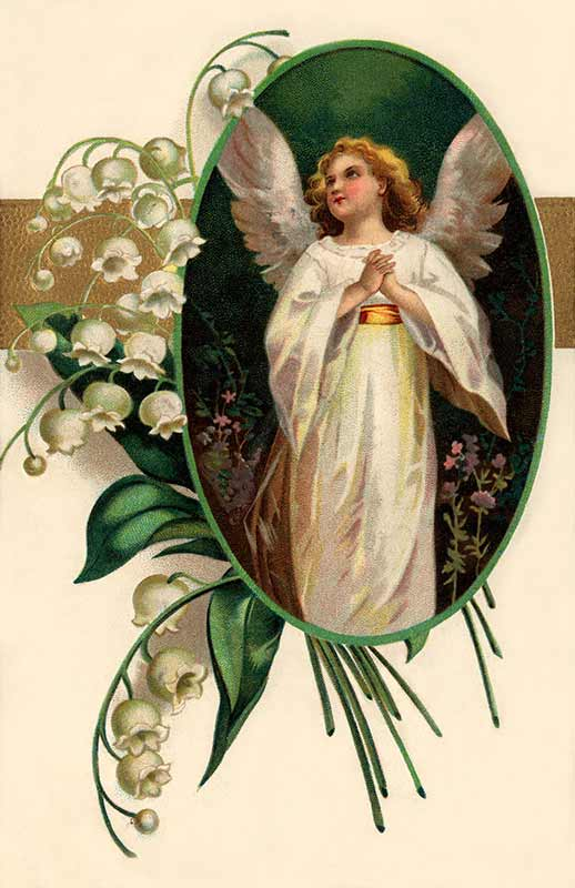 Angelss Vintage Free Clipart.