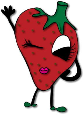Strawberry Clipart Black And White.
