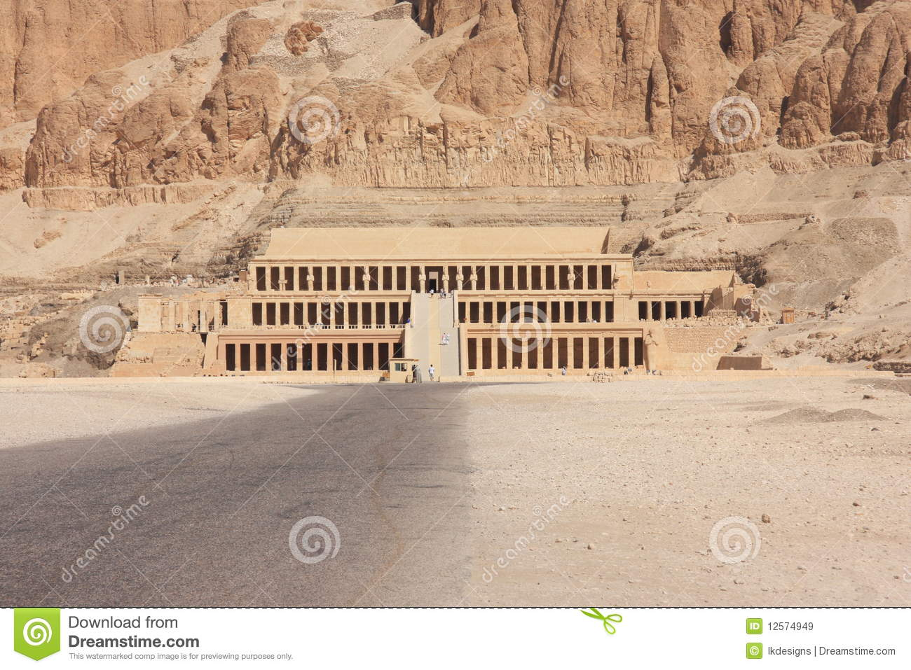 Valley Of The Kings Royalty Free Stock Images.