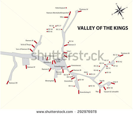 Valley Of The Kings Egypt Stock Vectors & Vector Clip Art.
