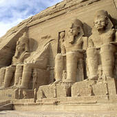 Stock Photo of Temple of Hatshepsut, Valley of The Kings, Egypt.