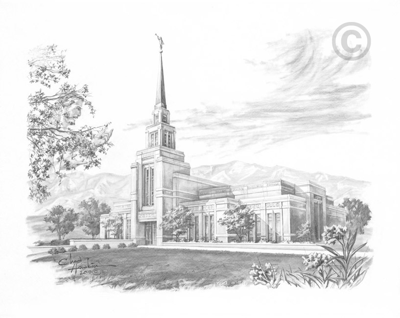 Gila Valley Arizona Temple Recommend Holder in Temple.
