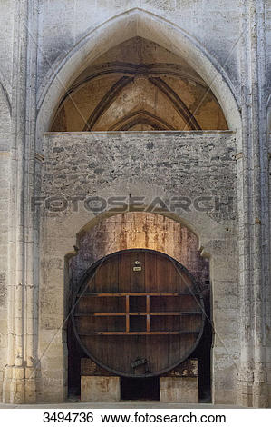 Stock Images of France, Southern France, Vileveyrac, Cistercian.