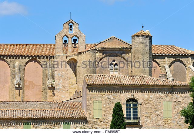 Valmagne Abbey France Stock Photos & Valmagne Abbey France Stock.
