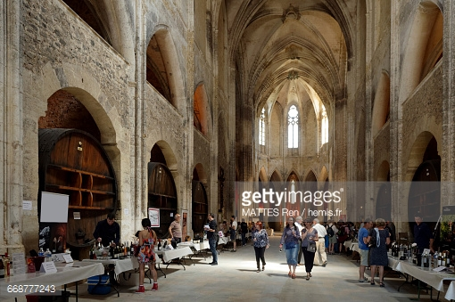France Herault Villeveyrac The Valmagne Abbey The Gothic Church.