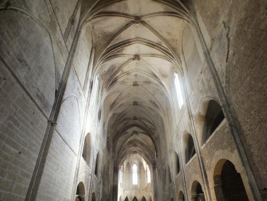 le plafond de l'église.