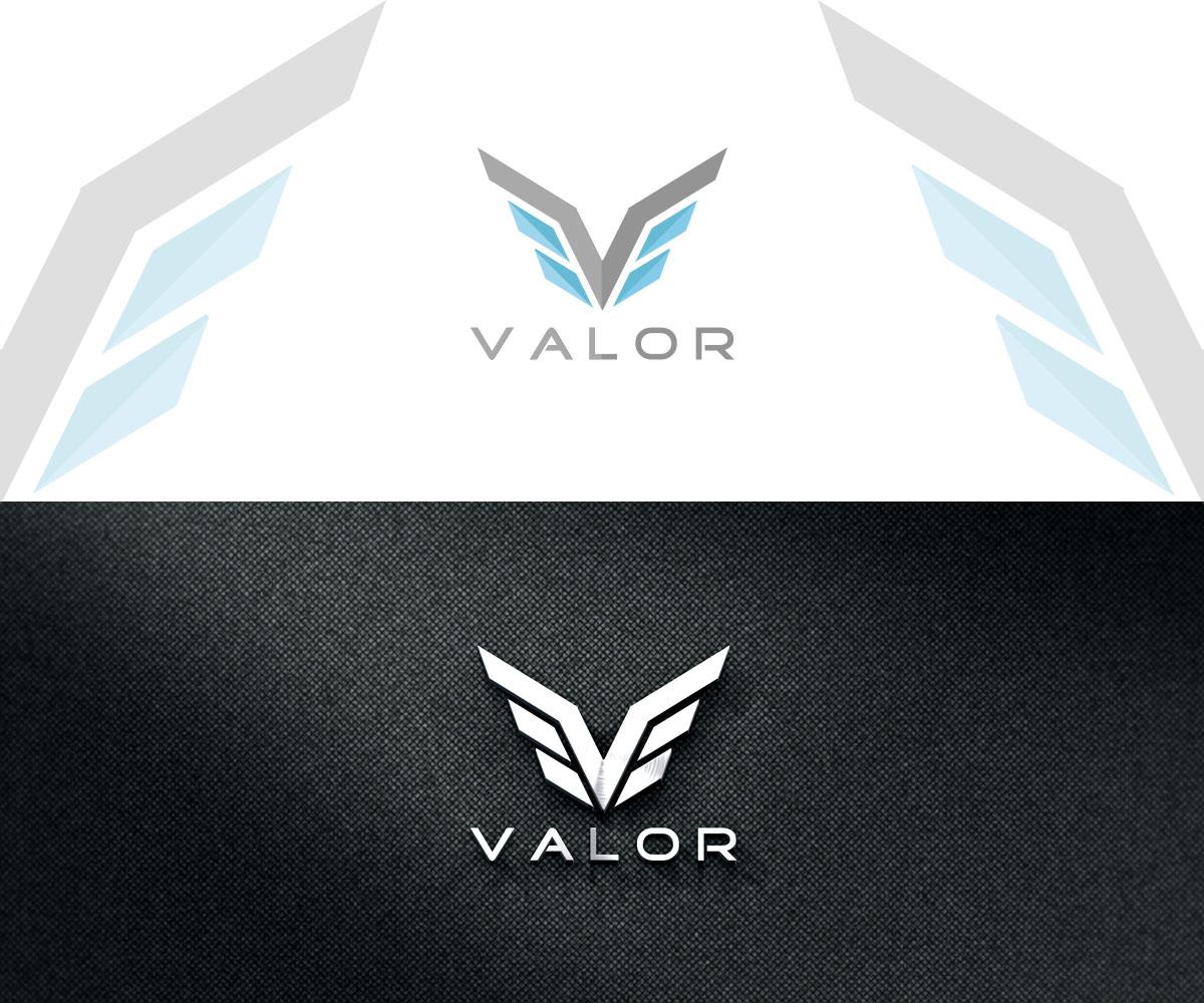 Valor sales team masters logo design.