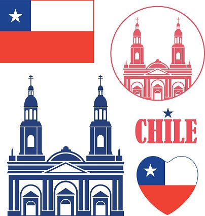 Santiago Chile Clip Art, Vector Images & Illustrations.