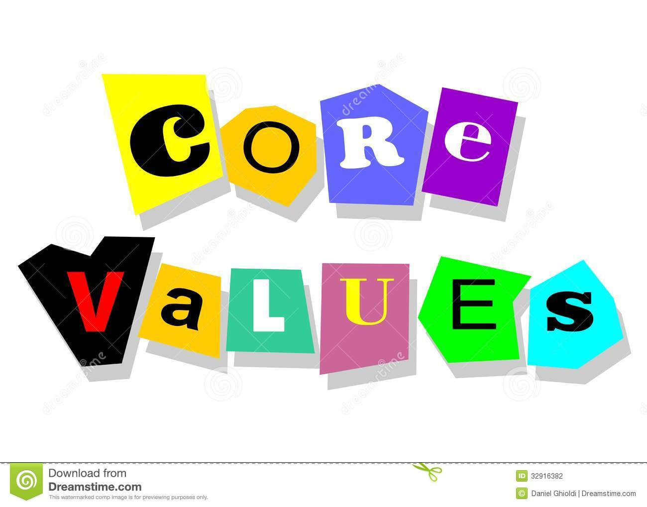 Core Values Stock Photography.
