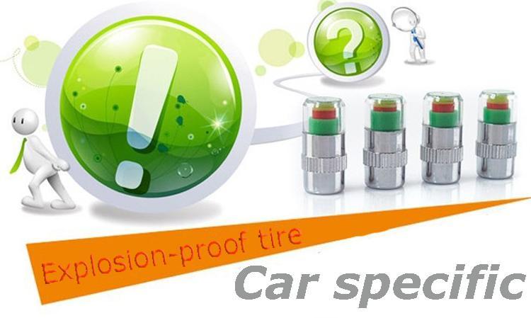2016 Air Alert Tire Valve Cap Pressure Monitor Valve Stem Cap.