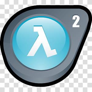 D Cartoon Icons III, Half Life Lost Coast, Valve logo.