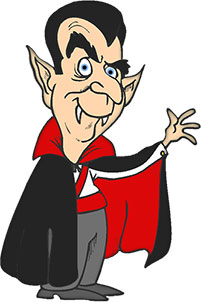Vampire Clip Art For Kids.