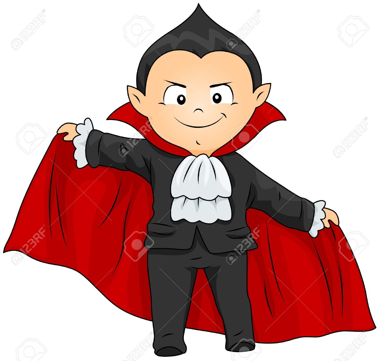 Animated vampire clipart.