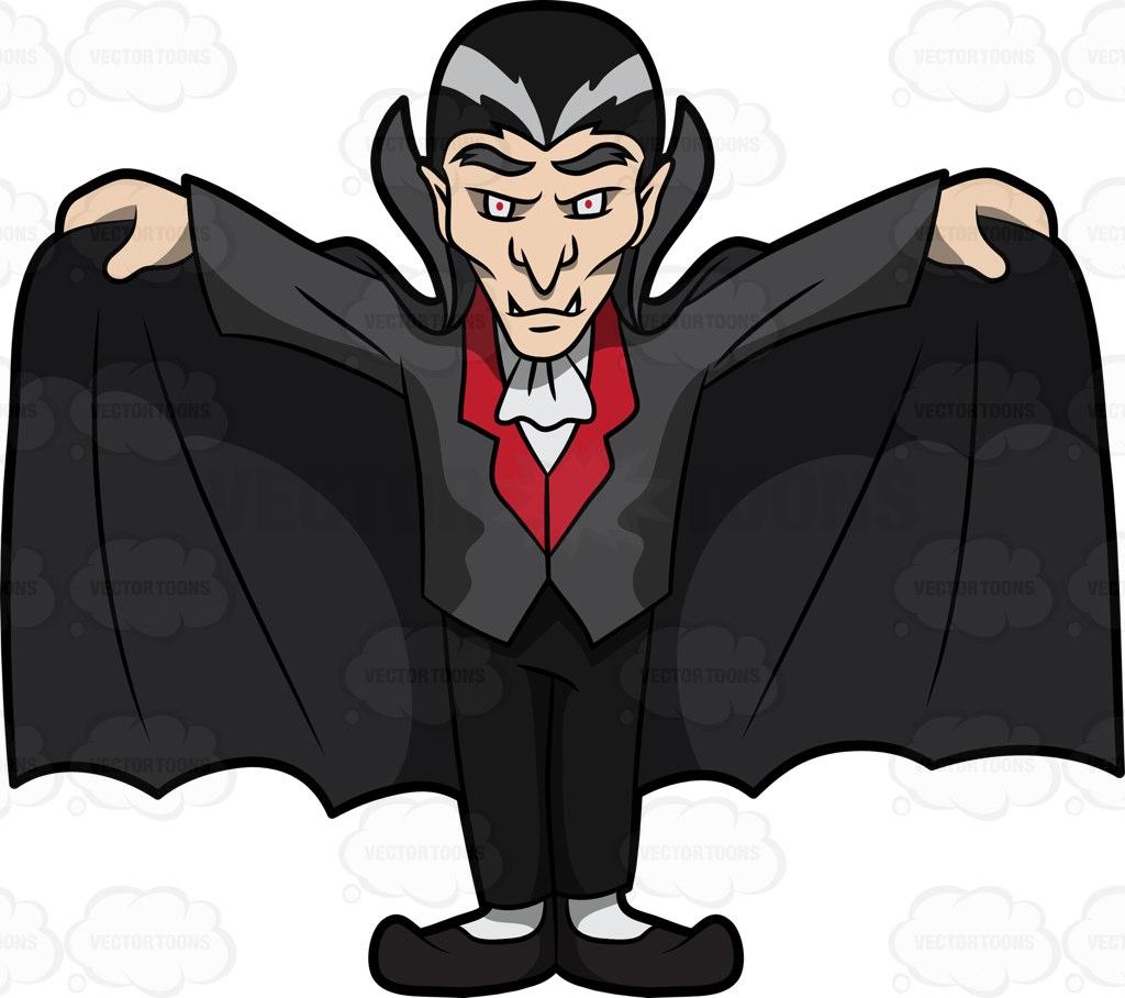 Vampire Cape Clipart.