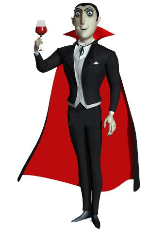 Dracula vampire cape.