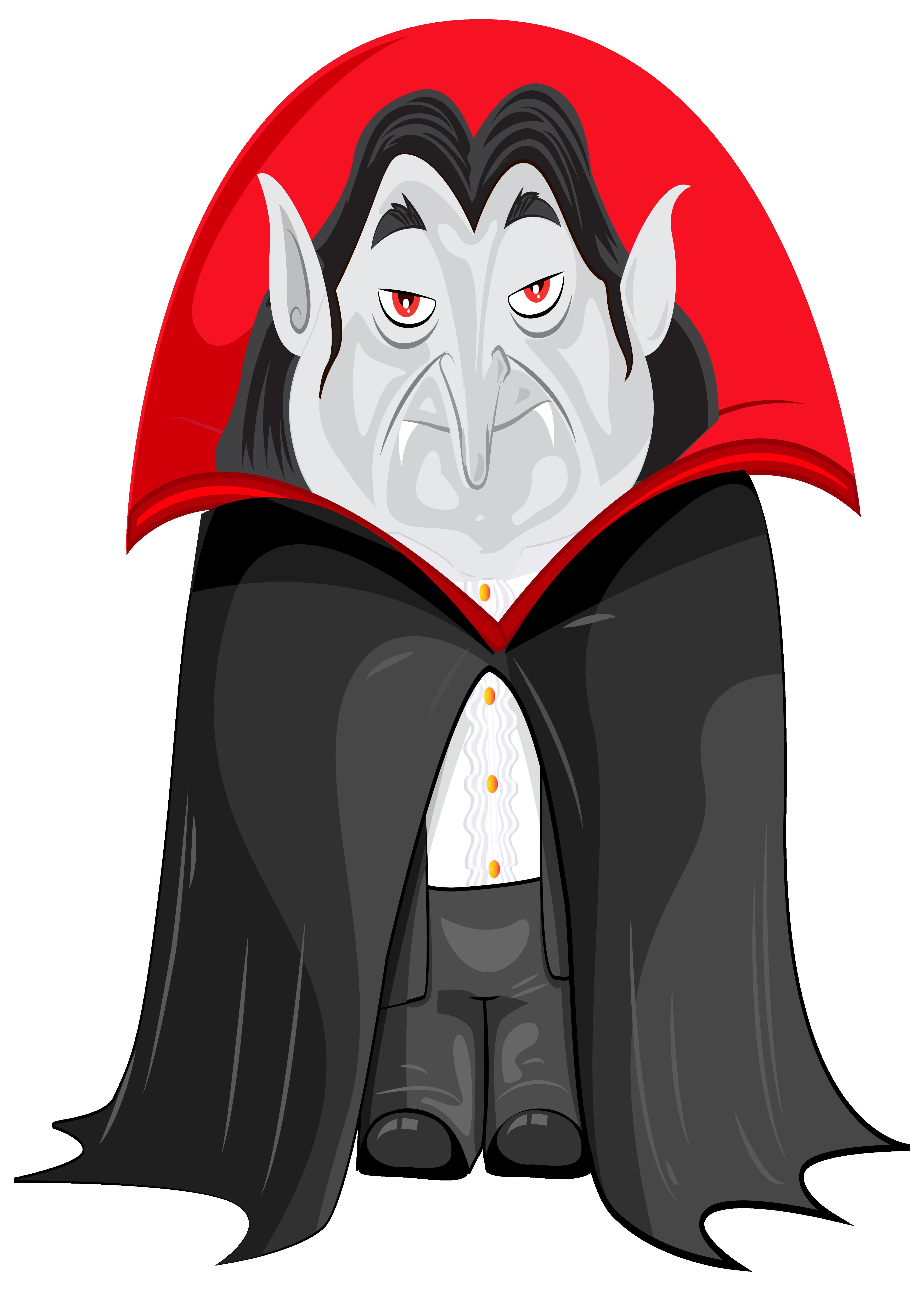 Halloween Vampire PNG Clipart Image.