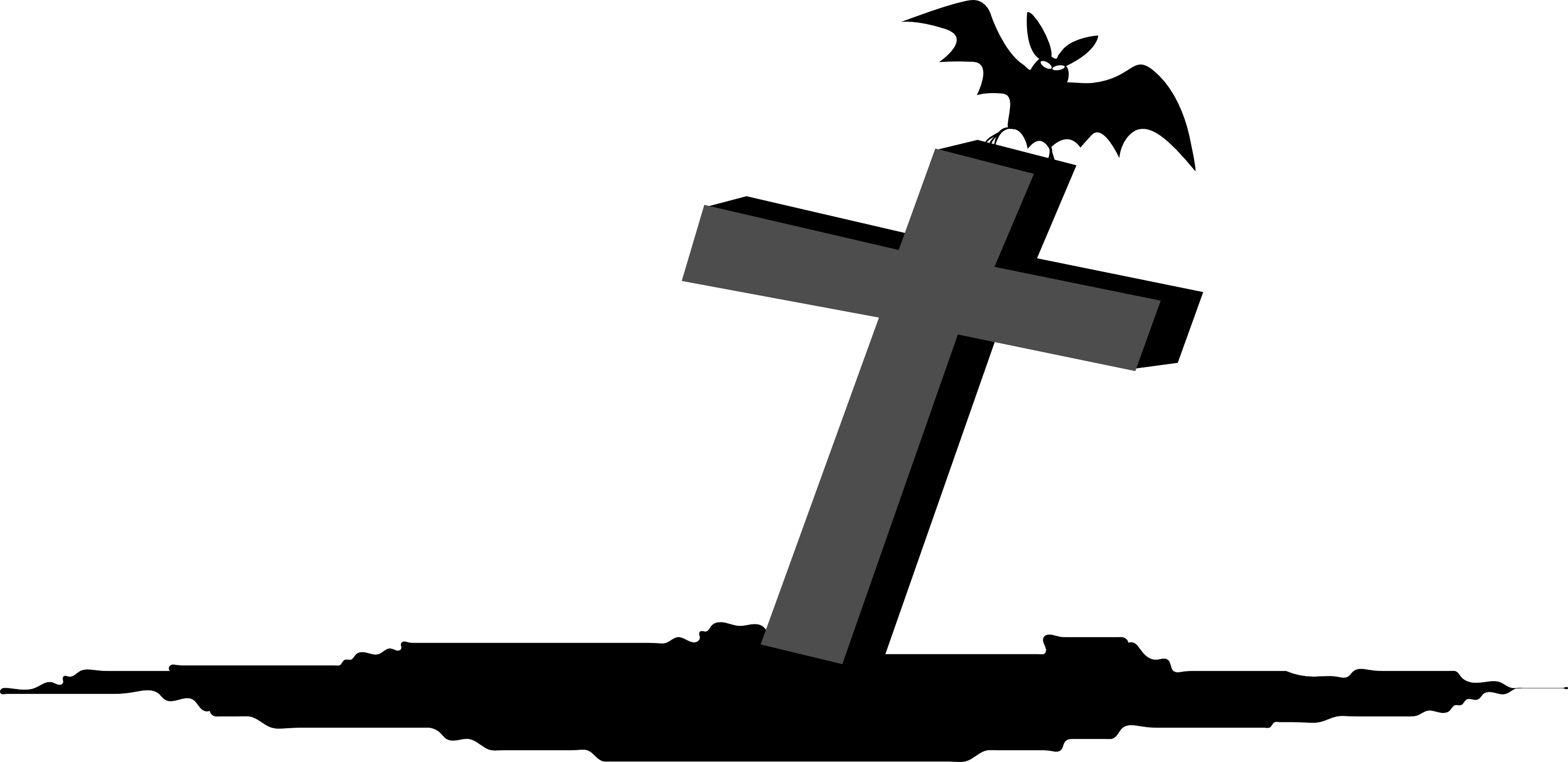 554 Tombstone free clipart.