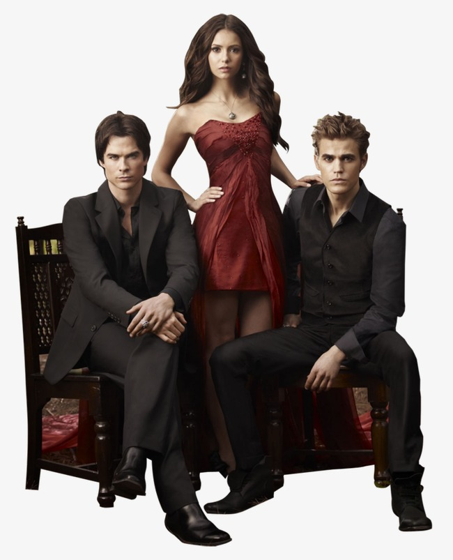 The vampire diaries PNG clipart.