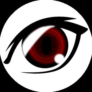 Vampire Anime Eye Clip Art at Clker.com.