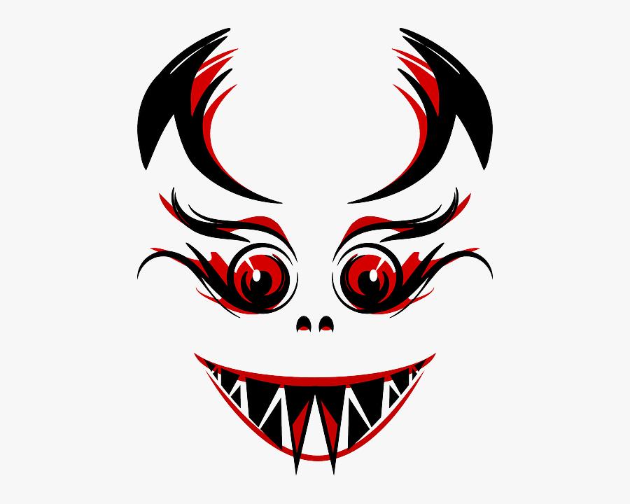 Evil, Devil, Demon, Eyes, Teeth, Fangs, Red.