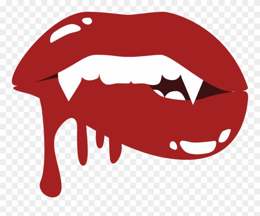 Vampire Teeth Clipart Transparent.