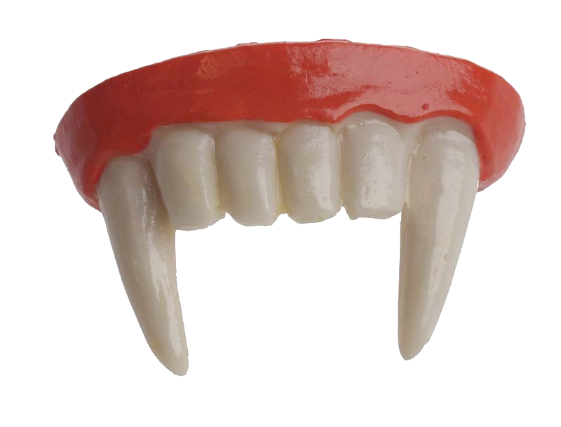 Vampire Fang Tooth pathology Dentures.