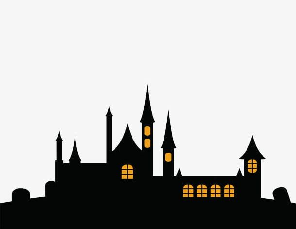 Halloween House PNG, Clipart, Dark, Halloween Clipart, House.
