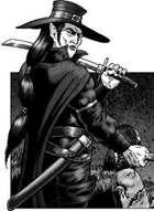 Clipart Critters 288: The Vampire, Vampire Hunter.