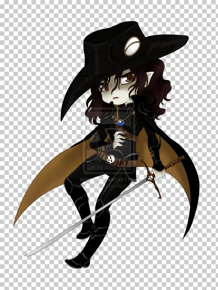 Vampire Hunter D Cosplay Character, cosplay PNG clipart.