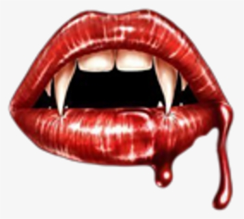 Free Vampire Teeth Clip Art with No Background.