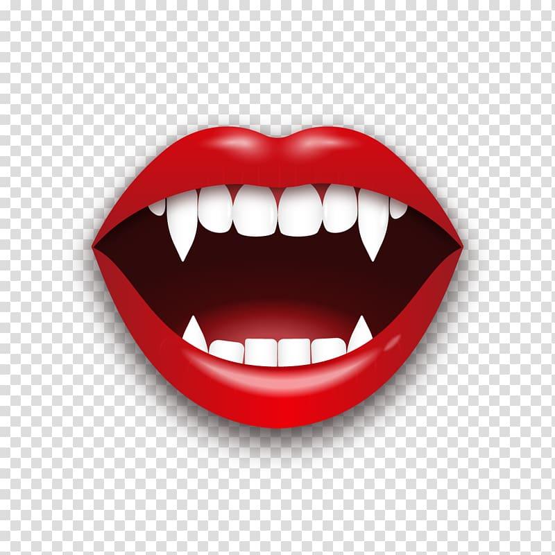 Vampire teeth , T.