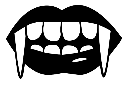 Free Vampire Mouth Png, Download Free Clip Art, Free Clip.