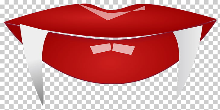 Vampire Mouth Close Up, red lips illustration PNG clipart.